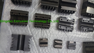 corrugated pipe mould block
